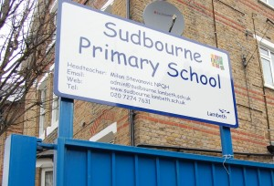 Sudbourne Primary School, Hayter Road