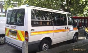 brixton police van caption