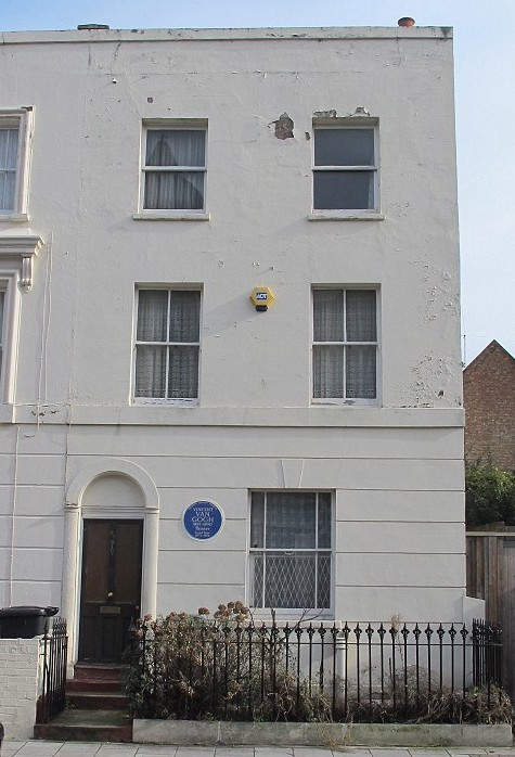 Van Gogh's home at 87 Hackford Road