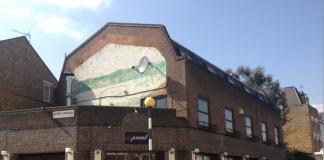 RAILTON ROW: The Harmony, or Pearl Bar, on Railton Road, Brixton