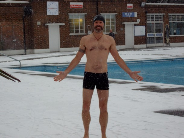 Guy Wickett at the Lido
