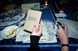 People exchange ideas at an Anchor and Magnet discussion supper in December