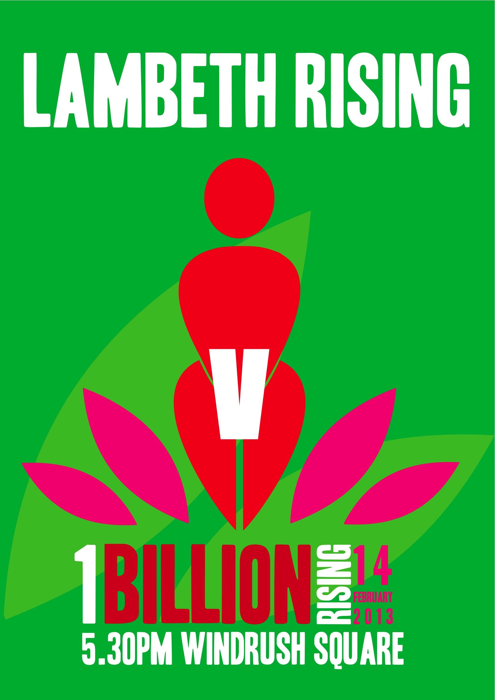OBR flashmob green poster