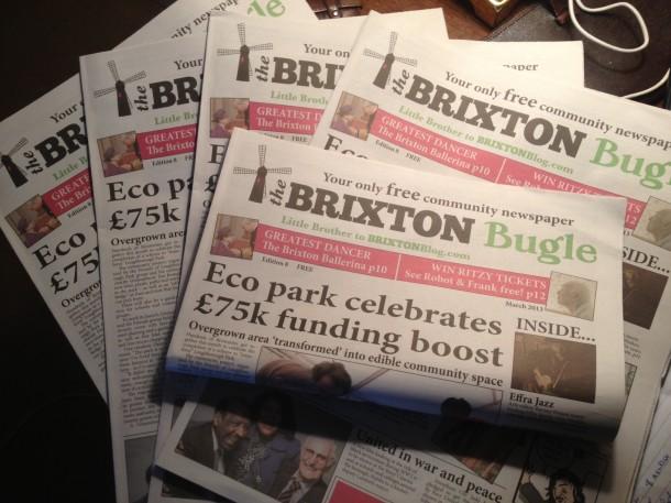 brixton bugle march