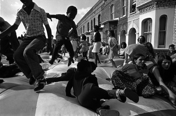 A Brixton street party in 1975, by Chris Steele-Perkins
