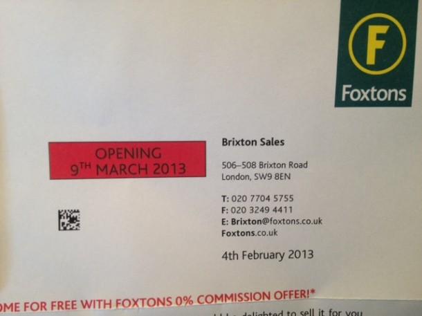 foxton's letter