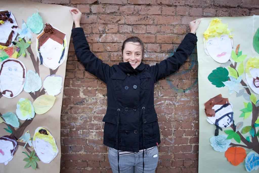 Camila Cardenosa will transform Windmill Gardens with a community mural