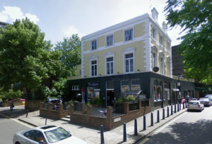 Canterbury Arms - picture from Google Streetview