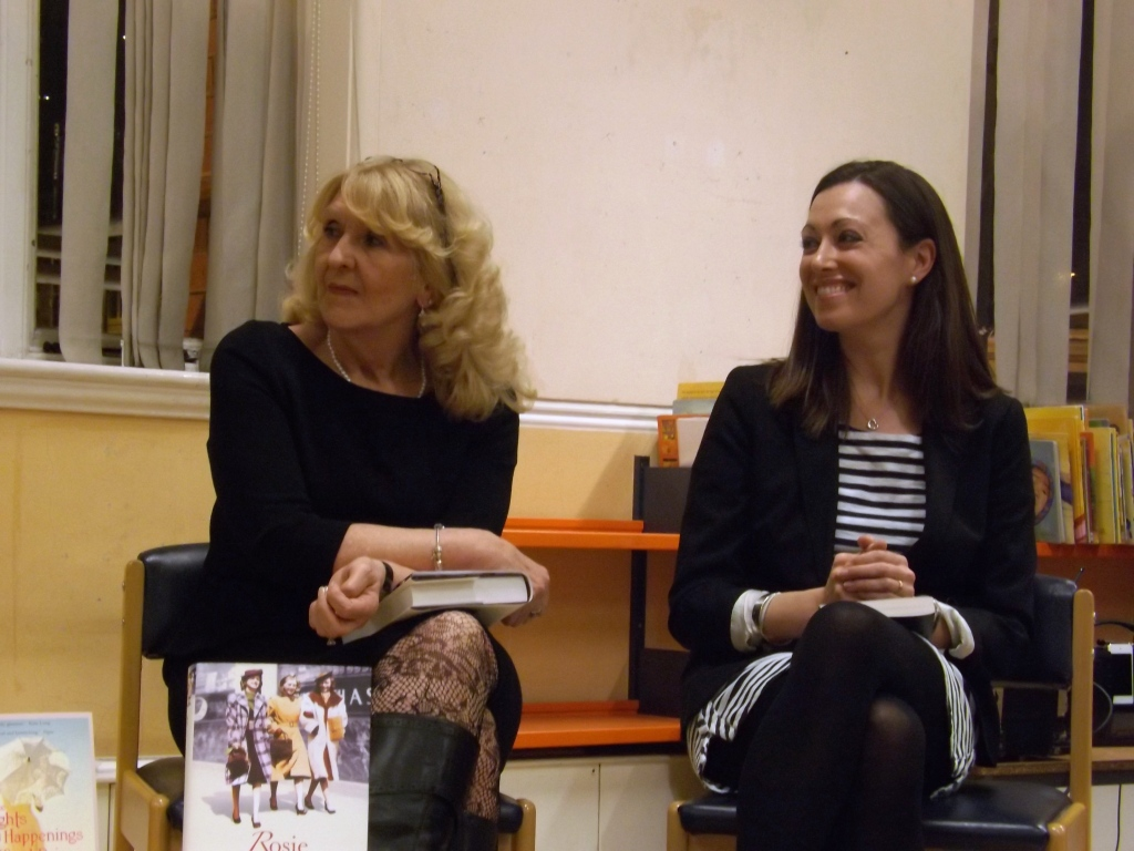 Rosie Goodwin and Lucy Caldwell in conversation with readers at Brixton Library