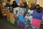 Names left to right- David Kaye, Shoomari Tara Jayni-James, Councillor Clive Bennett, Melvyn Abraham-Hagan, Bukola Bakinson, Reuben Alfred-Lecky