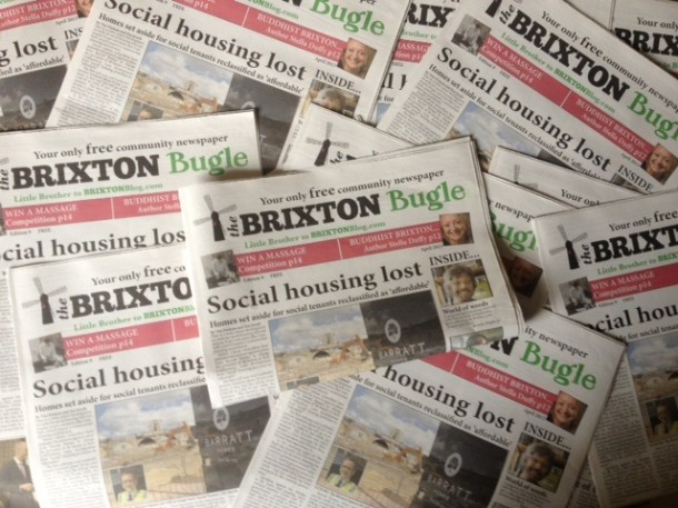 brixton bugle april montage
