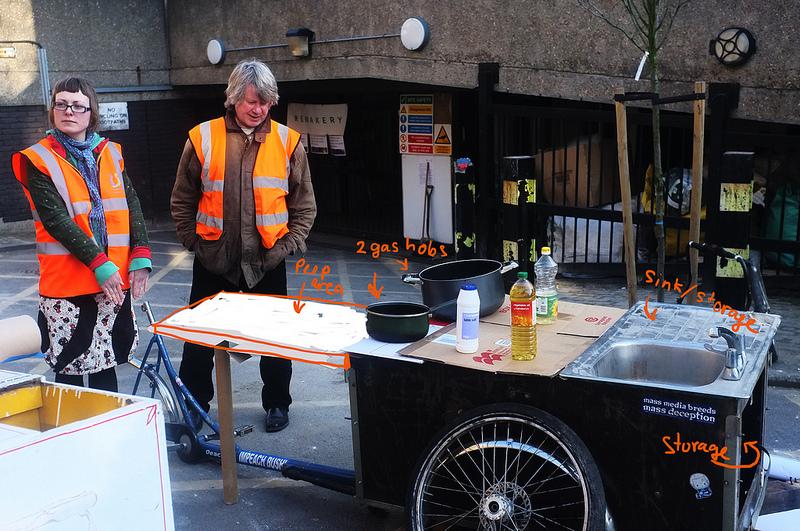 Brixton People's Kitchen's mobile kitchen!