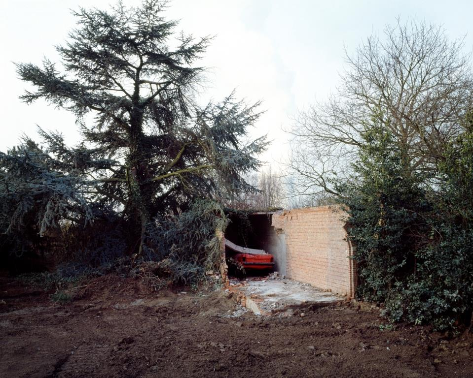 Photograph: Car Box, Unsettled. ©Isabelle Pateer 2009