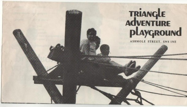 BACK IN THE DAY: Triangle playground in