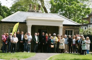 Councillors and park groups celebrate improvements to Brockwell Park in 2013