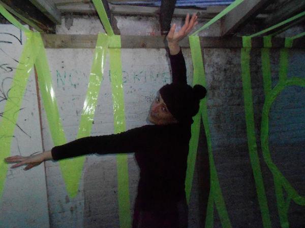Artist Elisavet Kalpaxi the Windmill shed