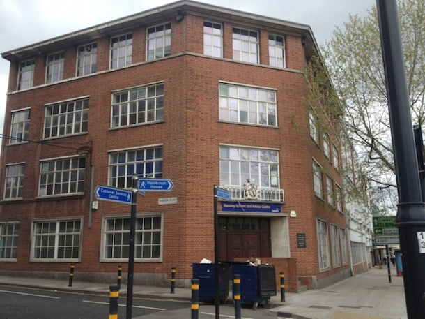 Housing advice centre lambeth council porden road