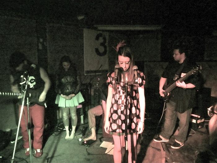 Poeticat on stage - photograph b