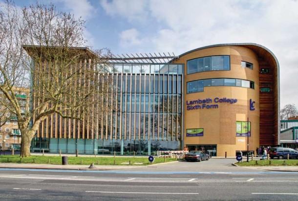 Lambeth College Clapham centre (pictured) in £12m investment
