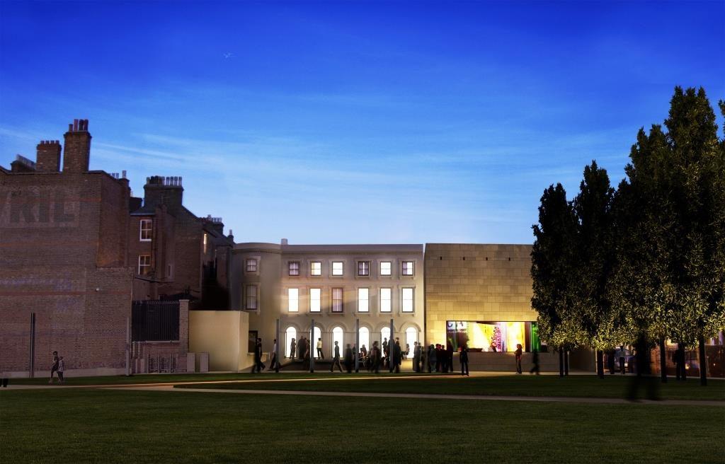 BCA at Night. Architect's render courtesy of Architects Pringle Richards Sharratt