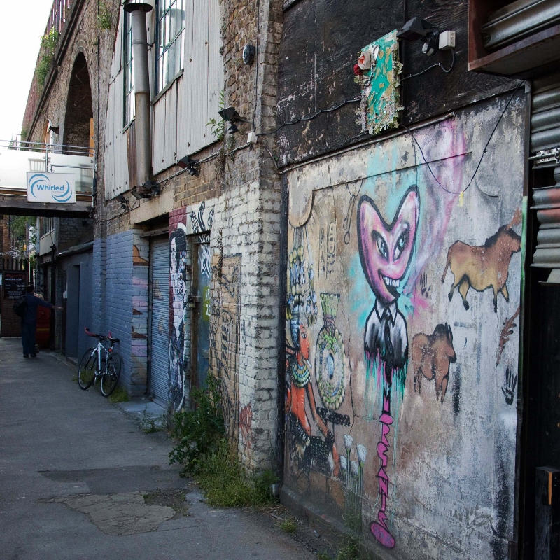 Whirled Cinema is tucked away down an alley near Loughborough Junction