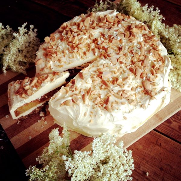 elderflower cake