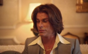 Rob Lowe in Behind The Candelabra. Yes, it really is Rob Lowe