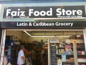 MOVING: Faiz Food Store