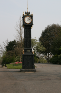 RESTORATION: the clock tower at present