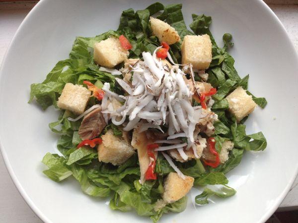 coconut salad chicken