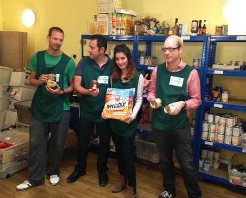 Brixton Food Bank Volunteers