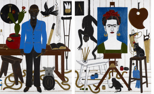 The Adoration of Frida Kahlo - Abe Odedina