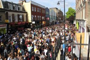 Revellers at last year's Brixton Splash event