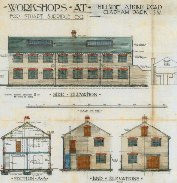 Built to last: Edwardian site plans, courtesy of the Lambeth Archives