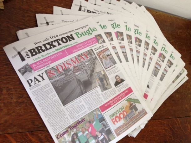 Brixton Bugle - October edition is out now!