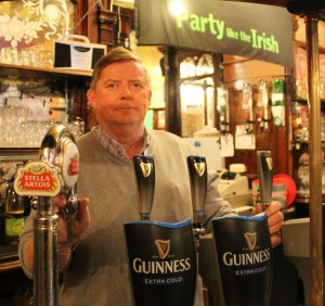 Landlord Brian Fitzgerald has run the Canterbury Arms for over 20 years