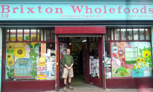 Tony Benest of Brixton Wholefoods