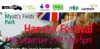 Harvest Festival at Myatt's Fields Park - Brixton