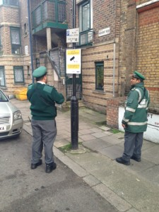 PARKING WARDENS BRIXTON