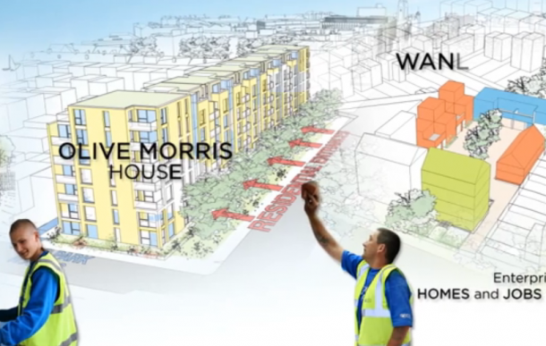 Olive Morris House could be redeveloped as housing under the plans