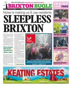 Cover: Brixton Bugle September 2017