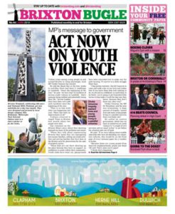 Brixton Bugle June 2016 front page