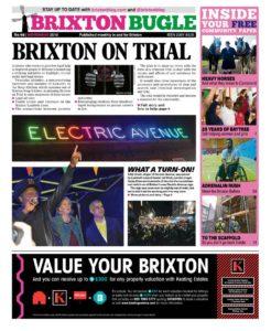 Cover Brixton Bugle November 2016