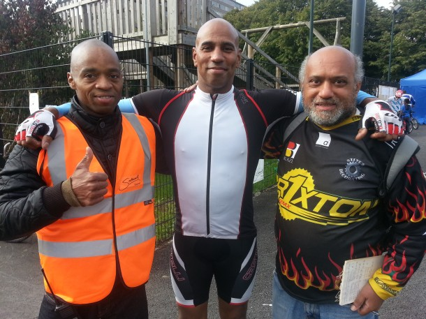 BMXers: Jason Lewis, Charlie Reynolds and Ken Floyd (from left to right)