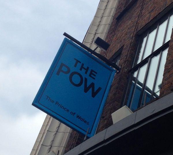 POW sign