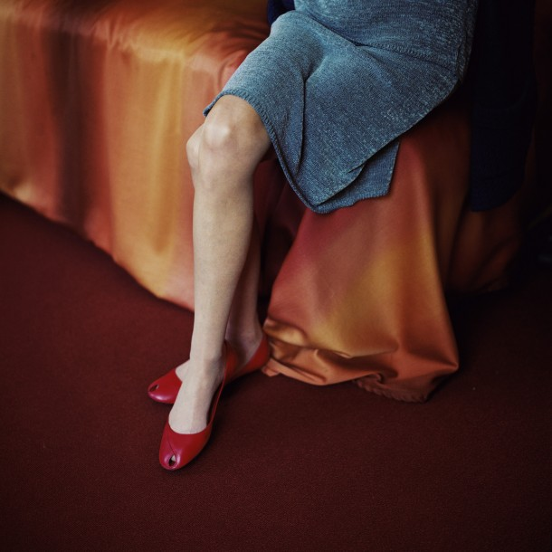 © Lydia Goldblatt, Red Shoes, from the series 'Still Here', 2013
