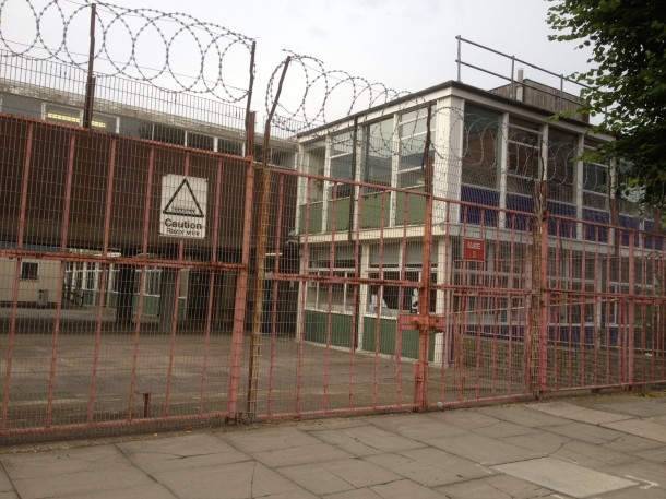 The current buildings on the site are dated and unloved