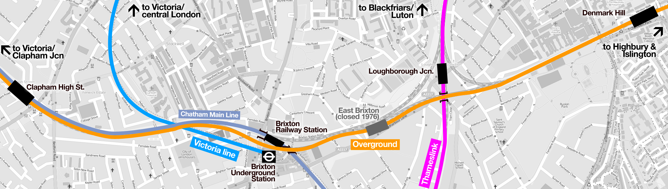 Could we see a new Overground station at Brixton or Loughborough