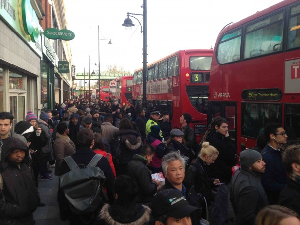 Tube strike 1 bus
