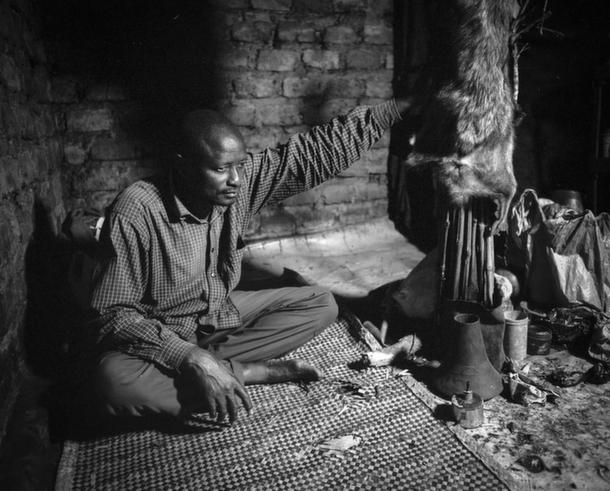 Inside a witch doctors shrine by Daniel Ali